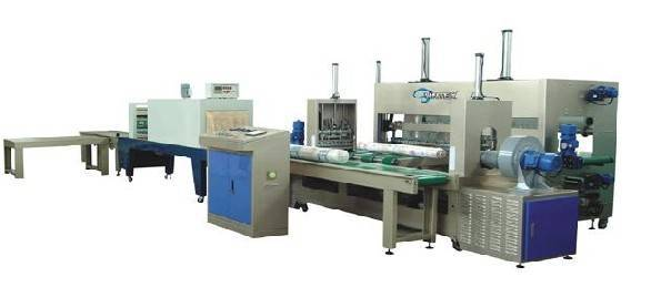 AUTOMATIC FABRIC ROLL SHRINK PACKING MACHINE( ST-ARPM)