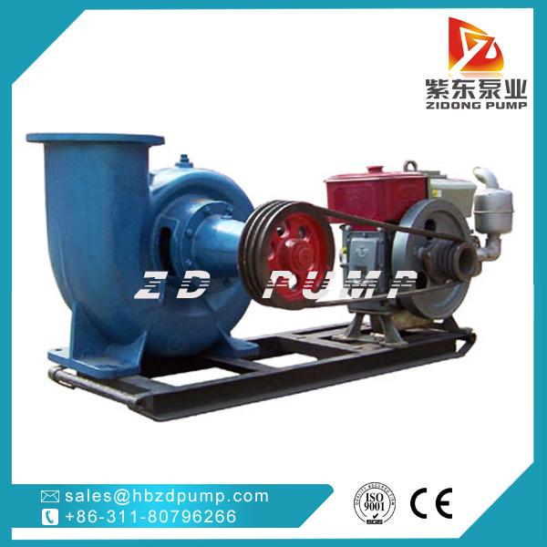 horizontal water pump large flow rate mixed flow pump