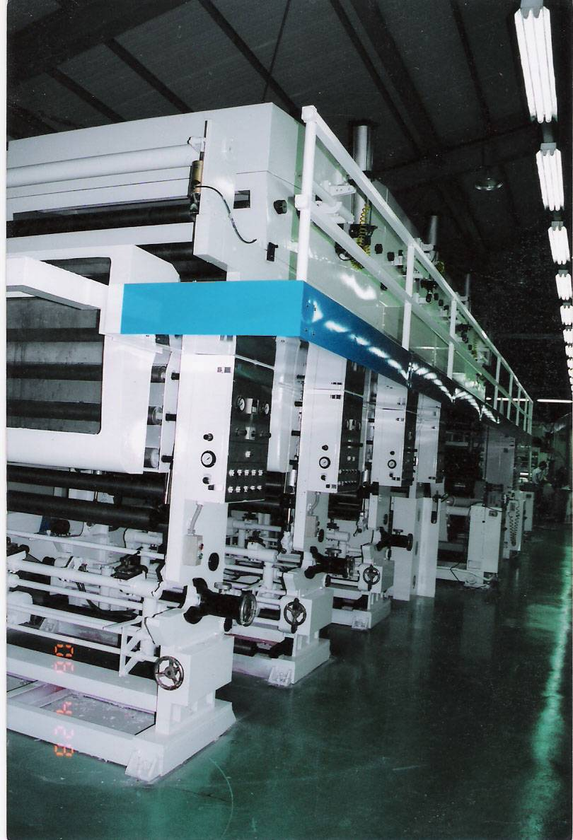 Gravure Coating Machine--- Laminating Coating(used)