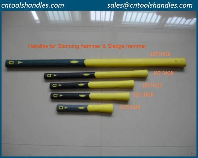 stoning hammer fiberglass handle