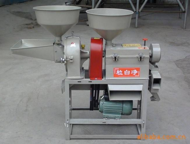 Multifunction Rice Husker and Milling Machine