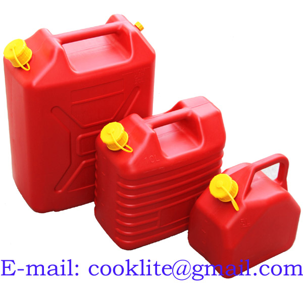 Plastic Fuel Petrol Diesel Jerry Can Gasoline Water Canister