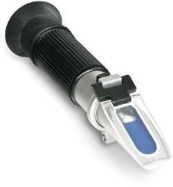 OE refractometer 0 - 140°OE 0 - 25°KMW BABO / 0 - 32 % MASH SA