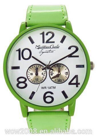 hot selling China women leather wrist watch