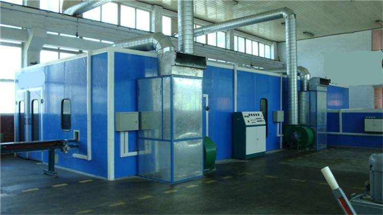D Oriental DOT-C4 CE 9.2m bus Spray booth