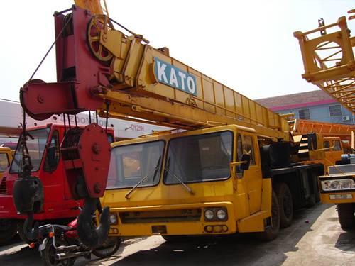 used NK400E-V KATO 40t truck crane