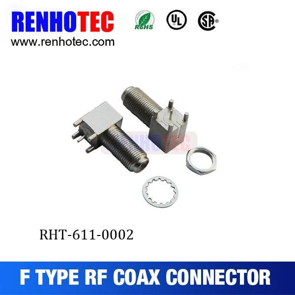 90 degree F Female Connector