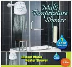 Hot & Normal Water Heater Shower