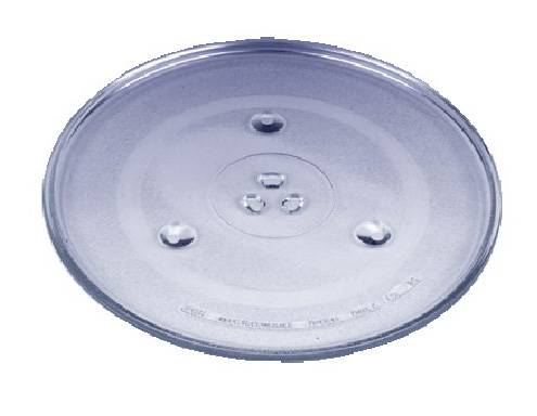 Microwave oven glass tray