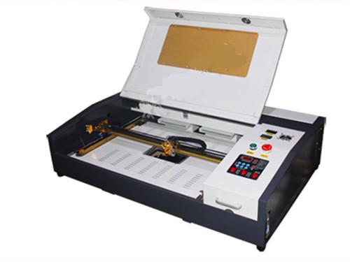 3020 40W CO2 Laser Engraving Machine laser stamp cutter, Mini 40W 2030 CNC laser carving machine