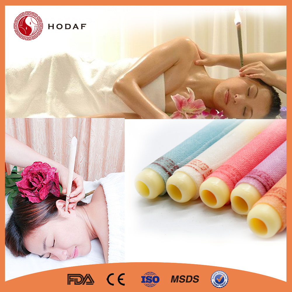 New design 100% Natural Aroma trumpet ear candle