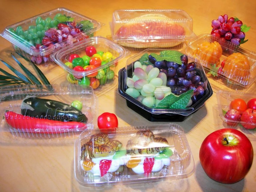 Sell BOPS polystyrene fruit plastic boxes