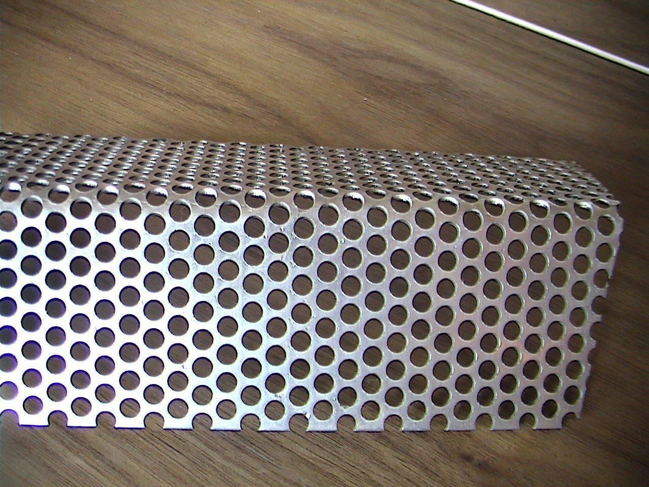 performed metal sheet