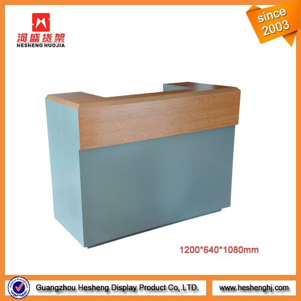 shop fitting store fixture cashier counter designs for sale