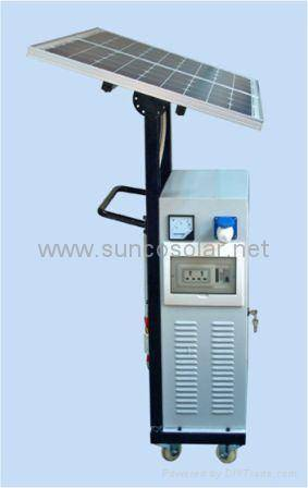 sell portable solar complete system SST-80PPS