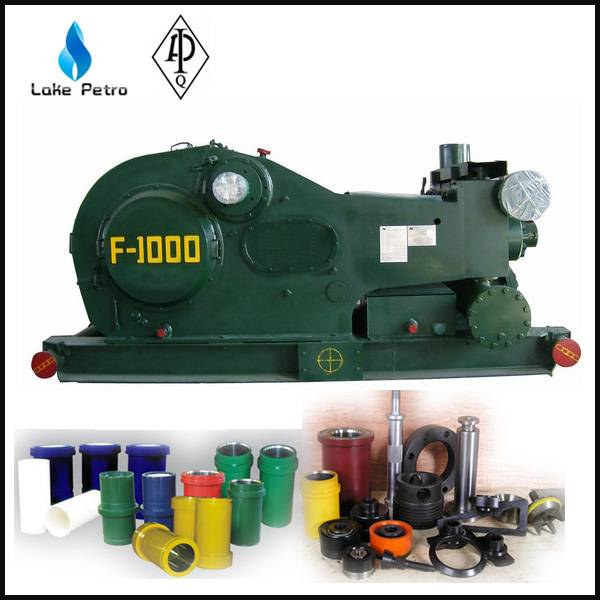 API 7K F-1000 drilling mud pump for drill rig