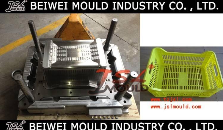 OEM Custom Injection Plastic Grid Crate Mould
