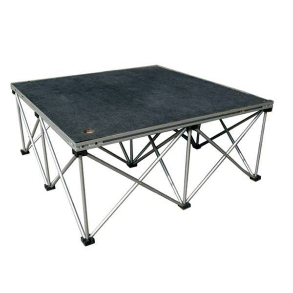 Quickly Install Aluminum Assemble Stage Indoor & Outdoor Portable Stage