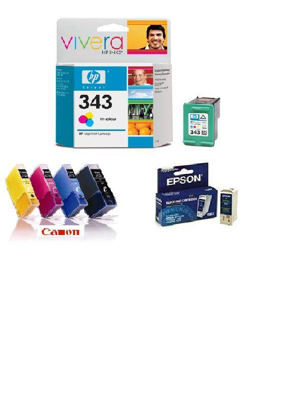 Selling Canon, HP, Epson Toners & Ink Cartridges