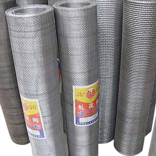 Stainless steel rayon mesh