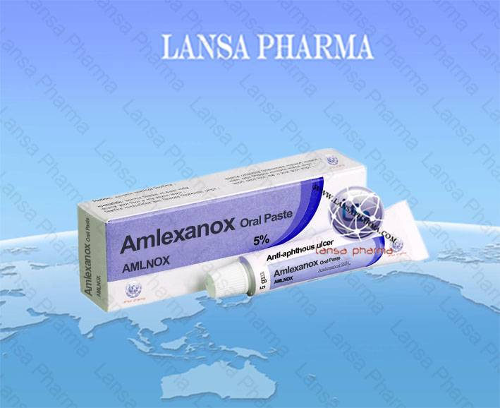 Amlexanox Oral Paste 5%