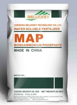 Mono Ammonium Phosphate(MAP 12-61-00) Water Soluble Fertilizer