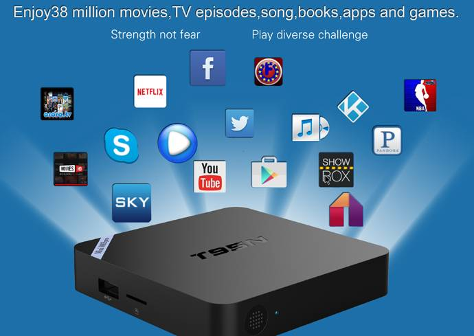 4K android TV BOX google TV BOX IPTV Cloud mini pc TV BOX wifi BT android5.1 OS