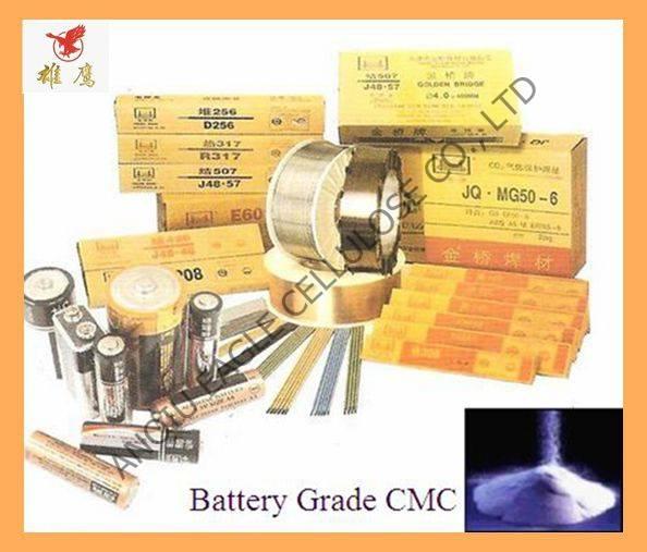 Electric Welding, Battery Grade CMC