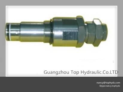 Komatsu PC120-6 main relief valve, serice relief valve for excavator