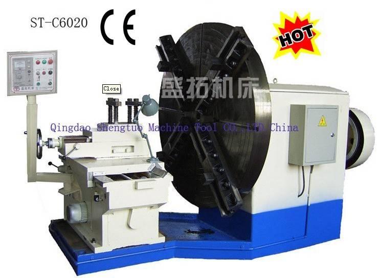 Flange lathe machine/ Heavy duty facing lathe/ Heavy duty lathe machine