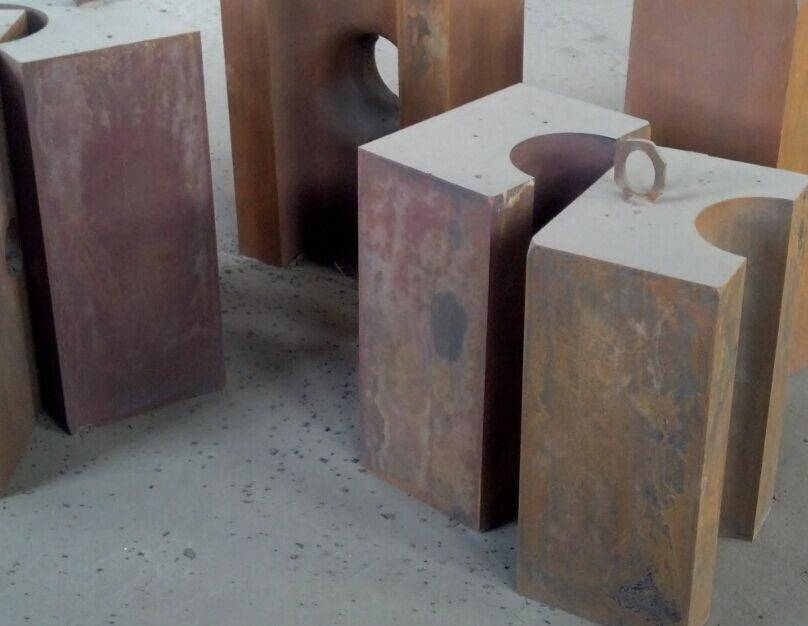 die steel shaping mould for tee