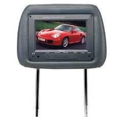 7 Headrest Pillow TFT LCD Monitor TV