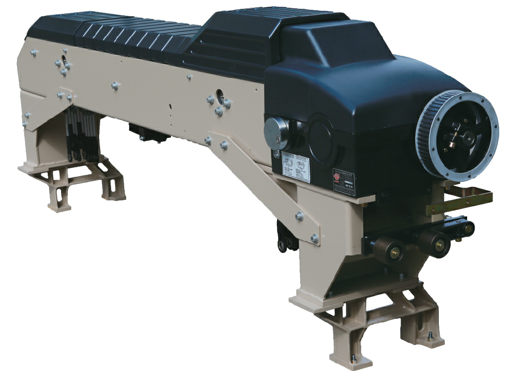 High speed positive cam shedding machine for water-jet loom