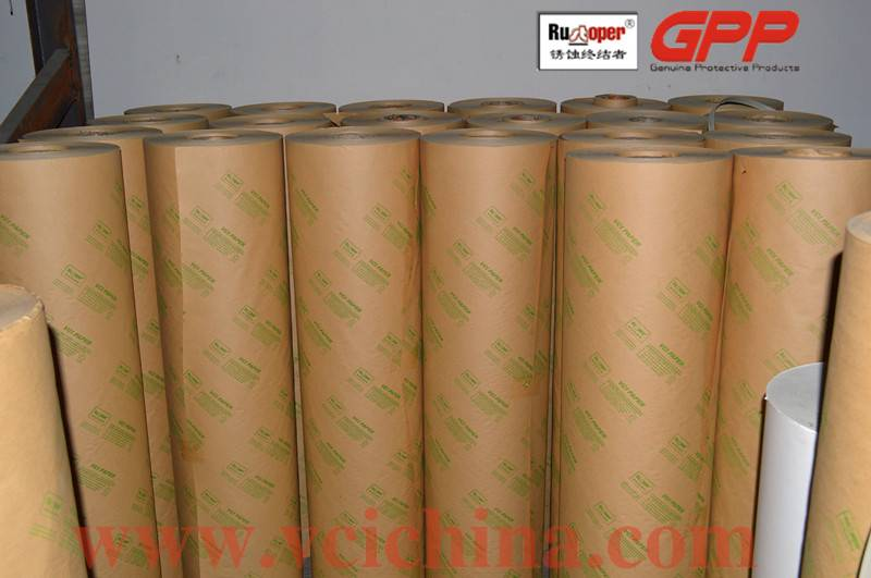 VCI paper for steel rust corrosion