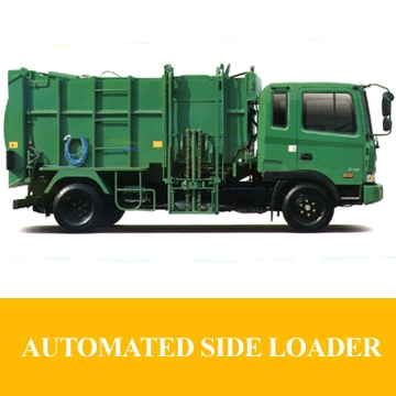 Special Machinery & Equipment[car / REFUSE COLLECTORT- SIDE LOADER]
