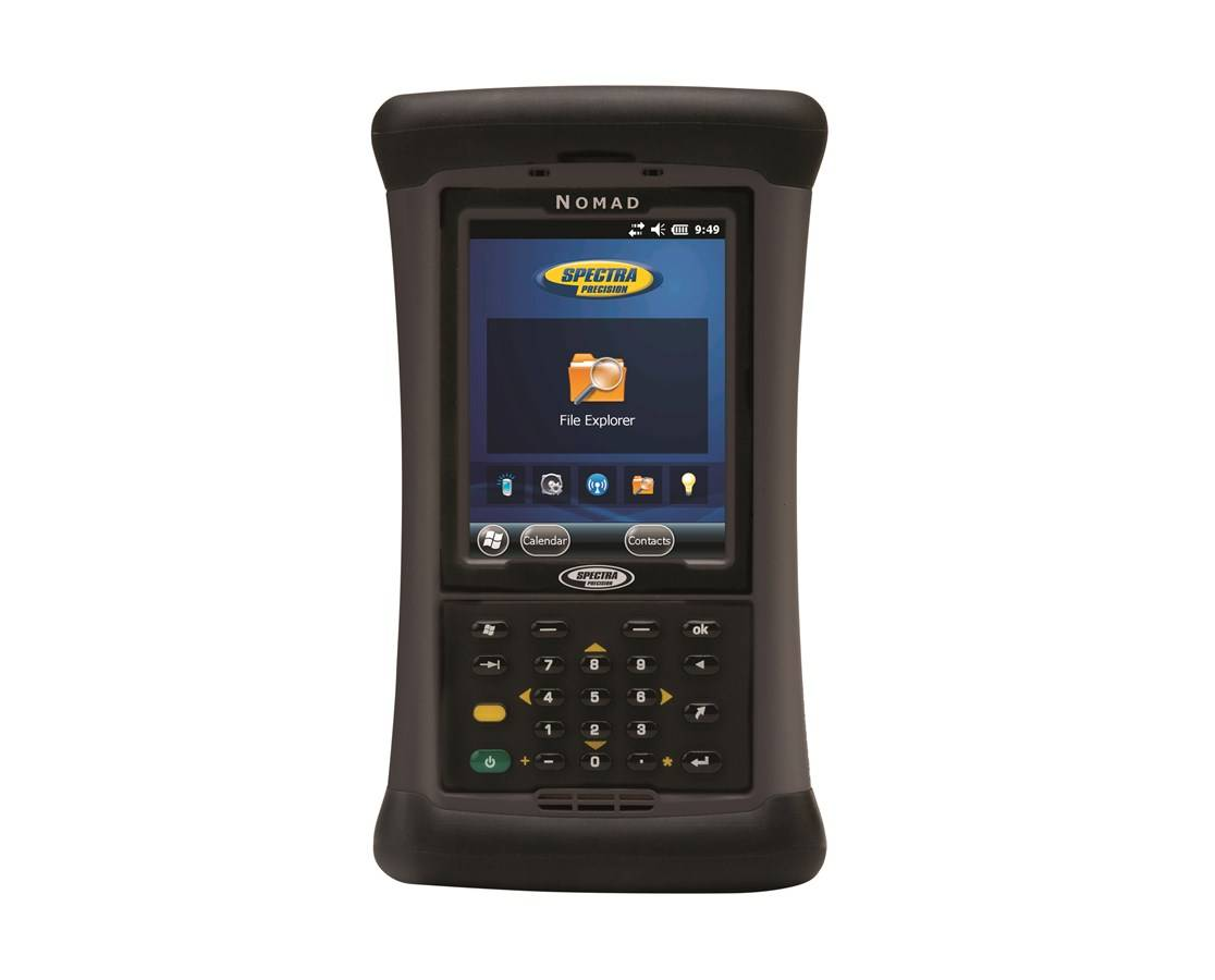 Spectra Nomad 1050B Data Collector with Survey Standard