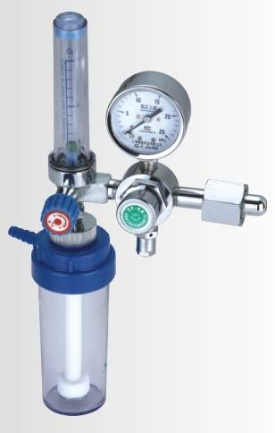 Medical Humidifier with flowmeter.