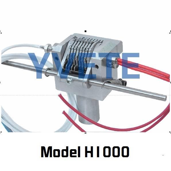 Heating type numbering machine
