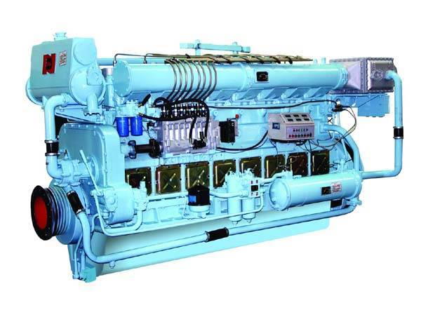 N160 series Marine diesel engines(184KW-478KW)