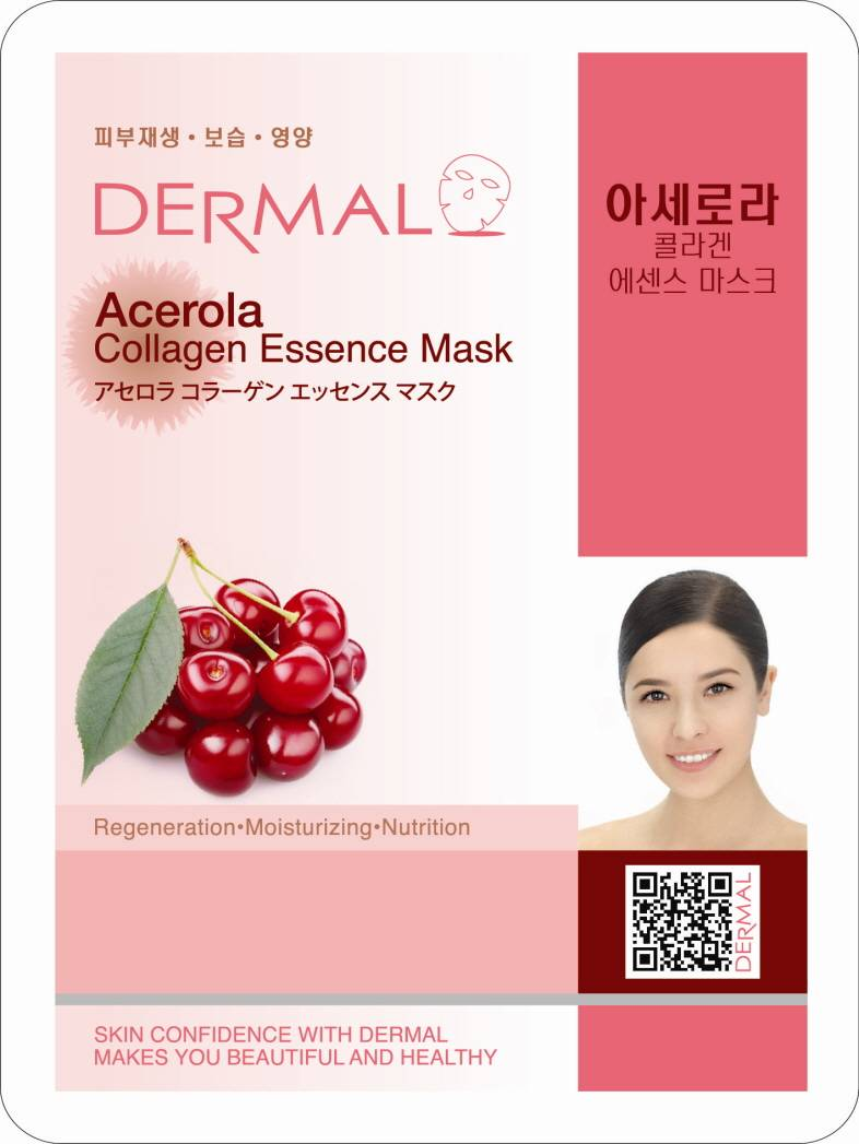 Dermal Acerola Collagen Essence Mask (23g)