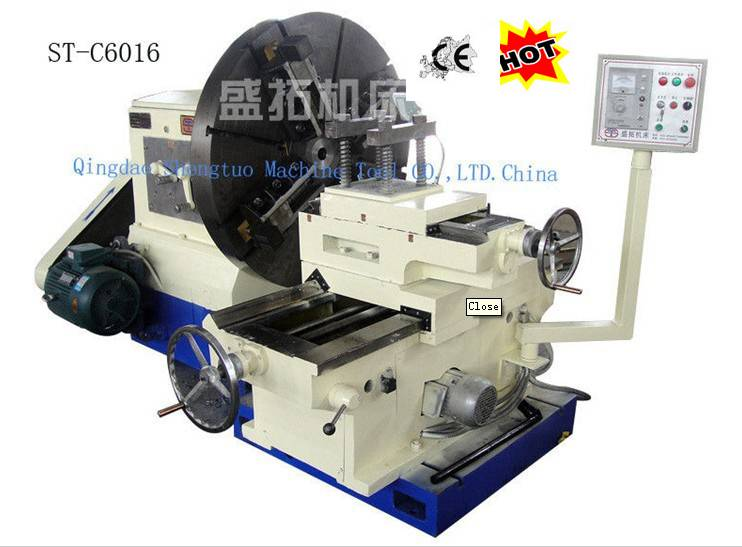 facing lathe machine/ flange lathe/ CNC lathe machine