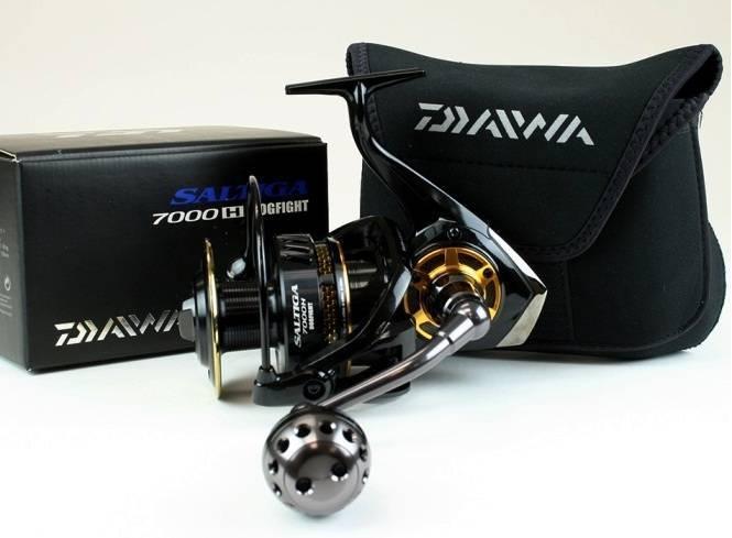 Daiwa Saltiga Dogfight SATG7000HDF Spinning Reel