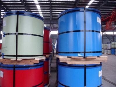 Prepainted galvanlume steel coils