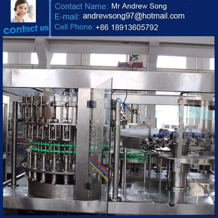 PET soft drink carbonated filling production line / making plants