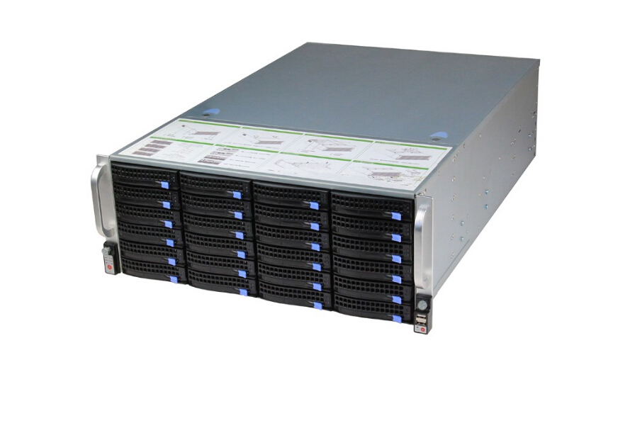 4U 19'' server cabinet ATX hot swap chassis rack mount chassis