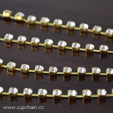 Rhinestone cup chain, strass cup chain,crystal cup chain, swarovsky,fusenby,asfour