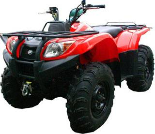 Honda style 4X4 water cooled 400cc atv