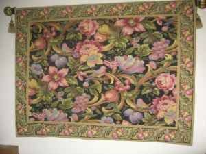 Gorgeous Floral & Birds Design Tapestry 50 X 47