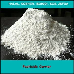 bleaching for Pesticide carrier
