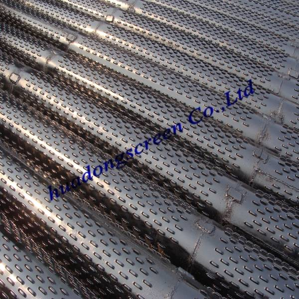 12inch Bridge type slot screen/slotted liner casing pipe for water treatment